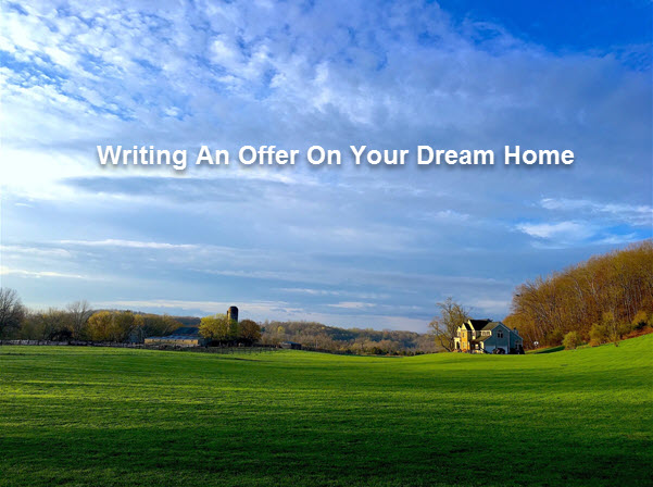 writing an offer on your dream home